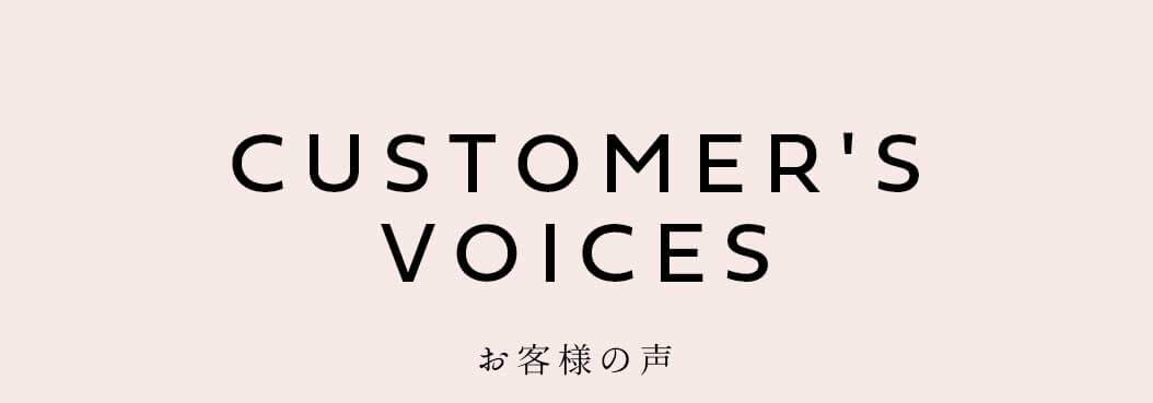 CUSTOMER'SVOICES